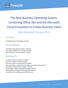 office 365 and azure white paper
