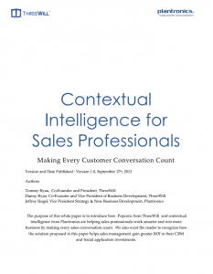 sales professional white paper
