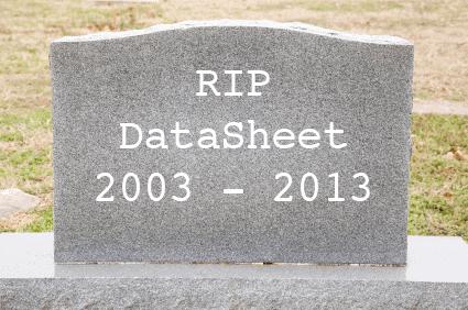 datasheet-dead