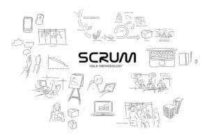 scrum-black-white